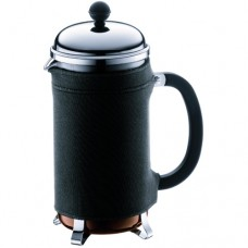 Bodum Nero Coffee Coat for Chambord Coffee Maker Black