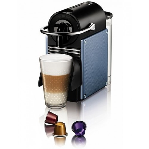 Magimix 11321 Nespresso Pixie Electric Steel Blue Espresso Maker
