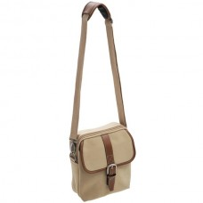 Canvas  Hangbag  With  Buckle
