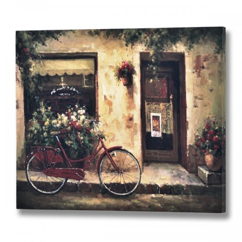 Red  Bicycle  Canvas