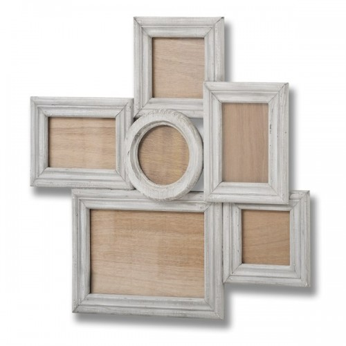 Wooden  Multi  Picture  Photo  Frame