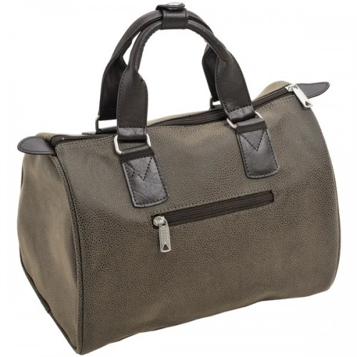 Mock  Nubuck  Small  Holdall  (dark)