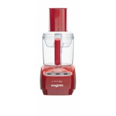Magimix Le Mini Plus Food Processor with BlenderMix - Red