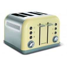 Morphy Richards Accents 4 Slice Toaster in Cream
