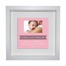 Box Frame Metal Artwork - 1st Mothers Day