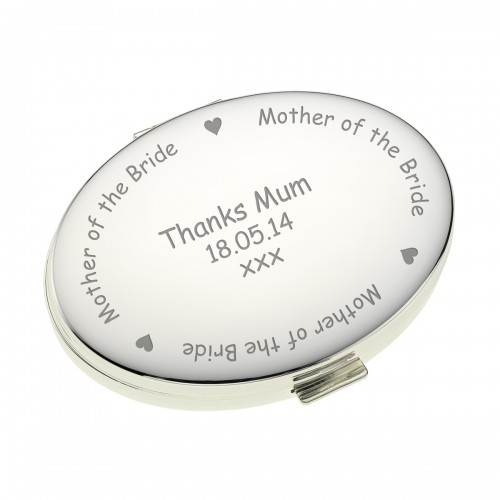 Oval Handbag Mirror - Mother of the Bride