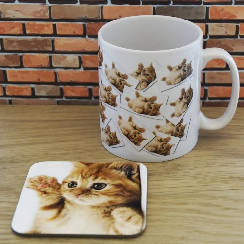 Mug and Coaster Set - My Cat