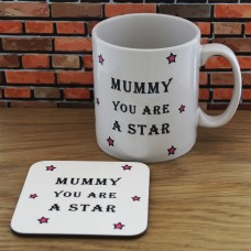 Mug and Coaster Set - Mummy