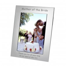 Mother of the Bride Silverplated Photo Frame 7x5