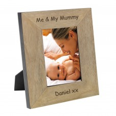 Me & My Mummy Wood Frame 7x5