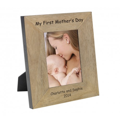 My First Mother s Day Wood Frame 7x5
