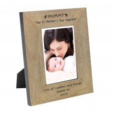MUMMY Our 1st Mother s Day together Wood Frame 7x5