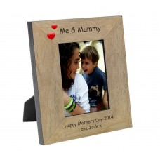 Me and Mummy Wood Photo Frame 7x5