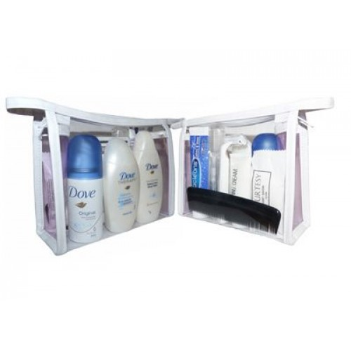 TRAVEL TOILETRY PACK - UNISEX