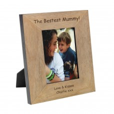 Bestest Mummy Wood Photo Frame 6x4