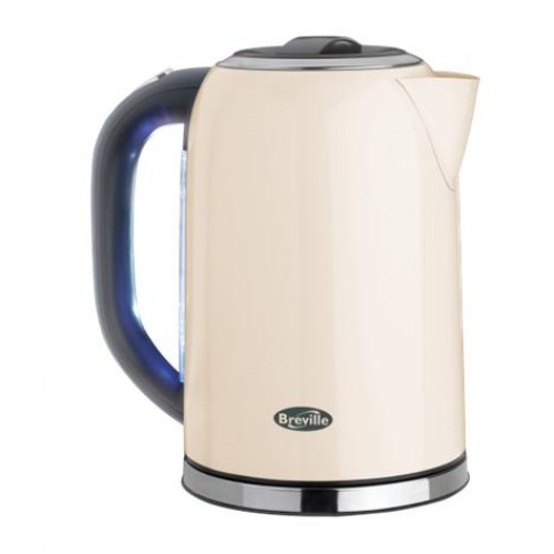Breville VKJ187 Stainless Steel Kettle in Cream