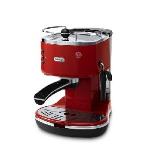 DeLonghi EC310R Icona Pump Espresso Coffee Machine - Red
