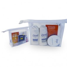 DOVE HOLIDAY TRAVEL TOILETRIES BAG