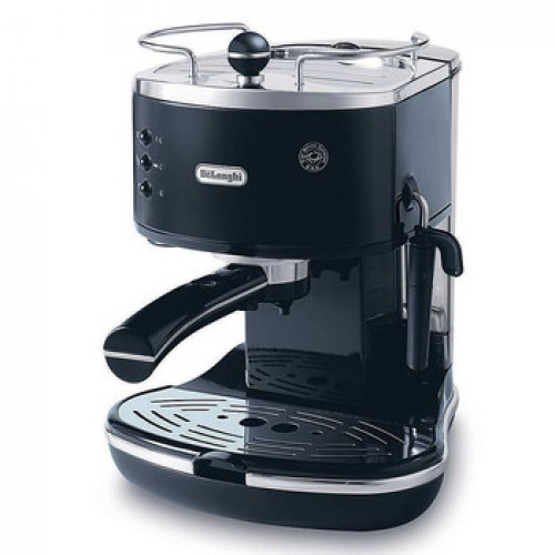 DeLonghi ECOV310BK1 Icona Vintage Coffee Maker - Black