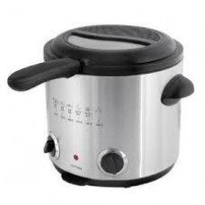 Lloytron E6110SS 1.5Ltr Family Deep Fryer in Brushed Steel