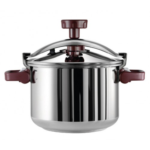 Tefal Actua Modula Stainless Steel Classic Pressure Cooker 8.0L