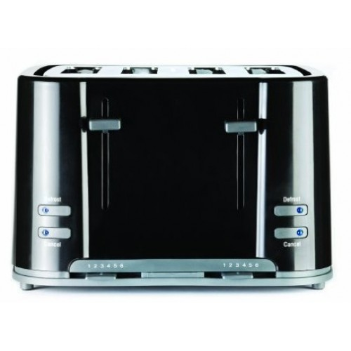 Prestige Eco 4 Slice Toaster in Black