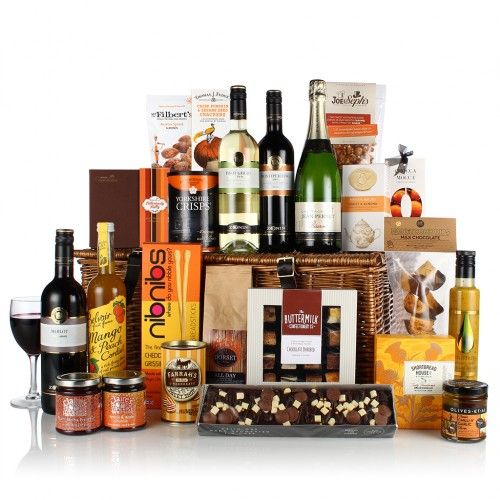 The Cheese & Wine Hamper