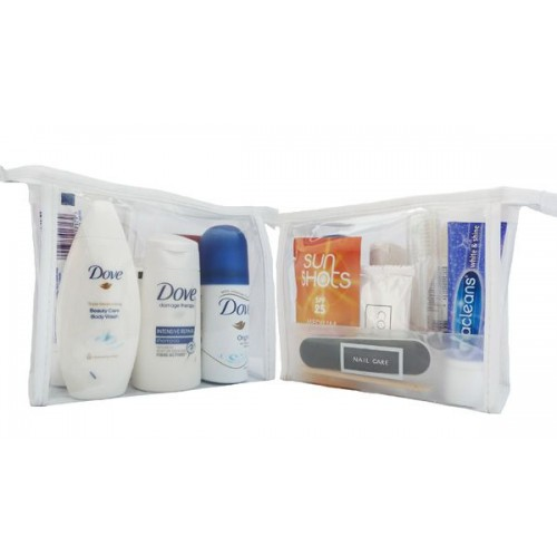 SUMMER TRAVEL SIZE TOILETRY BAG